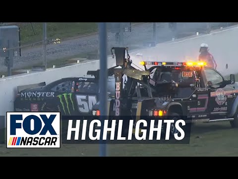 Kyle Busch Injured in Second Big One  Daytona  2015 NASCAR Xfinity Series