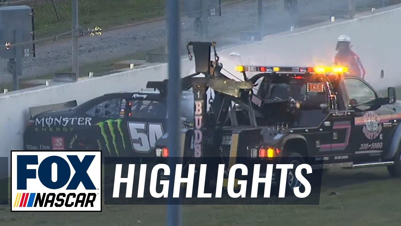 Kyle Busch Injured in Second Big One - Daytona - 2015 NASCAR Xfinity ...