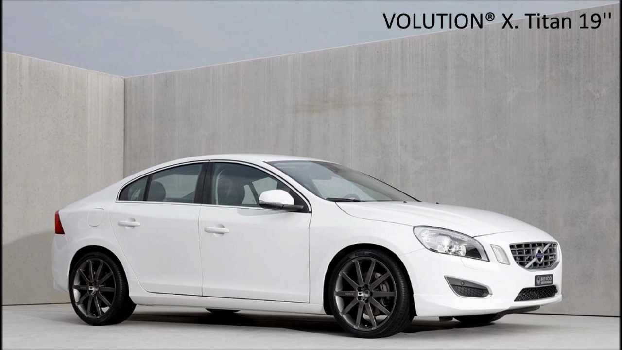 heico sportiv volution wheels for your volvo s60 youtube. Black Bedroom Furniture Sets. Home Design Ideas