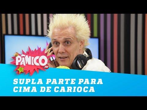 Após discussão, Supla parte para cima de Carioca!