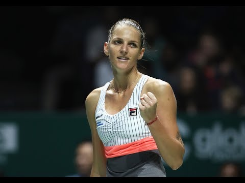 2017 WTA Finals Singapore | Karolina Pliskova vs Venus Williams | WTA Highlights