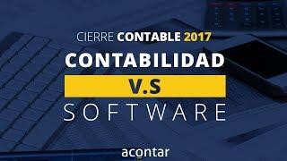 Contabilidad VS Software - Cierre contable 2017
