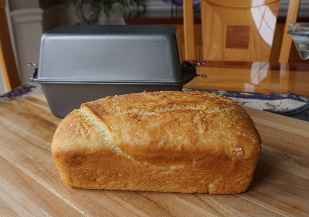 How to Bake No-Knead Bread in a Poor Man's Dutch Oven (no mixer… no bread machine…) - YouTube
