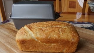 How To Bake No-knead Bread In A Poor Man's Dutch Oven (no Mixer  No Bread Machine )