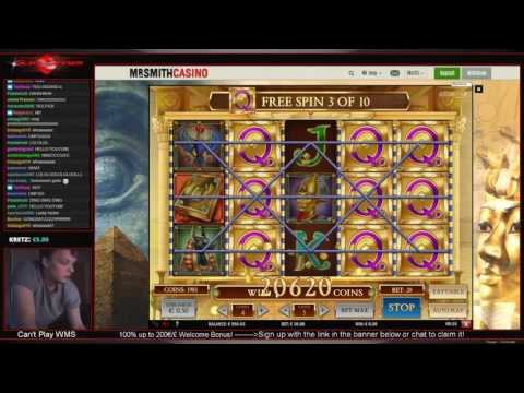 NICE HIT on Casino slot SINBAD - Betting high while streaming live!