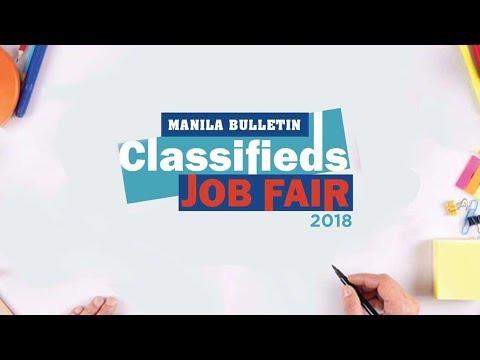 Manila Bulletin Job Fair 2018 SM North Edsa SkyDome, November 13-14