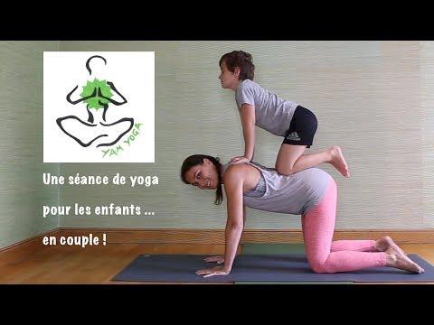 ❤ Pratique 20 - Une séance de yoga pour les enfants… en partenaire! 77d9294cd28