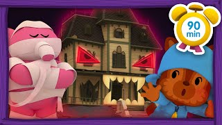 👻 POCOYO in ENGLISH - HALLOWEEN: THE LITTLE GHOST [90 min] Full Episodes |VIDEOS & CARTOONS for KIDS
