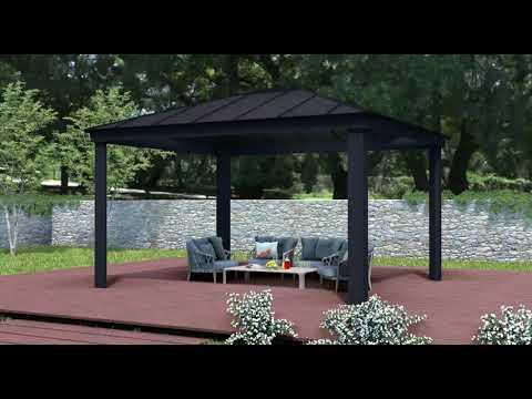Palram Produktvideo Pavillon Dallas