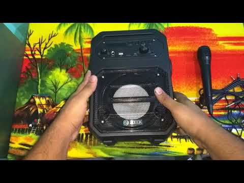 Zoook Rocker Thunder 20W Bluetooth Speaker With Kakaoke Mic :- Unboxing + Review