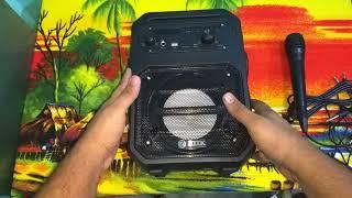 Zoook Rocker Thunder 20W Bluetooth Speaker With Kakaoke Mic :- Unboxing + Review