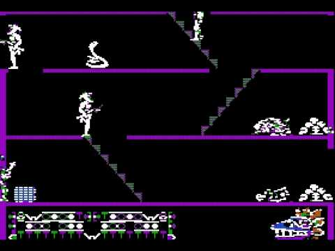 Aztec; fast playthrough on highest difficulty; Apple II