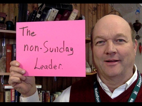 The Non-Sunday Leader- 5 Minutes to Better Sundays