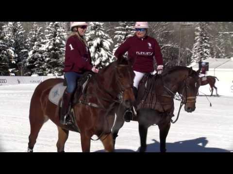 2016 -  World Snow Polo Championship Final - Flexjet vs US Polo Assn