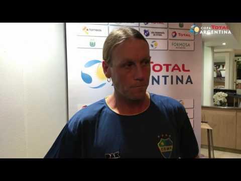 Daniel Cordone - entrenador de Leandro N  Alem
