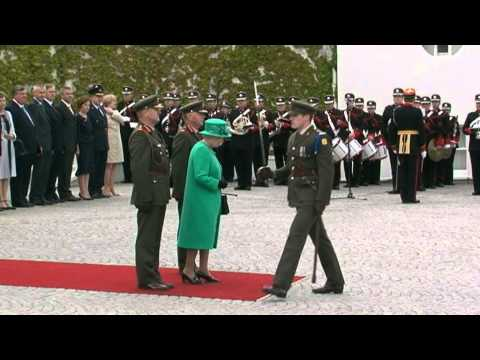 Her Majesty Queen Elizabeth II State Visit To Ireland.