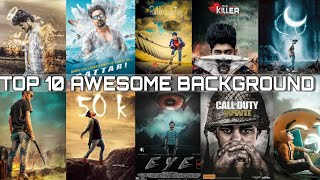 Top 10 Awesome Manipulation HD Background  Download || Alfaz Editing