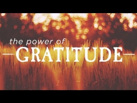 The Power Of Gratitude! Motivational Video