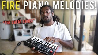 The SECRET to making INSANE PIANO MELODIES | Making a beat logic pro x tutorial 2019