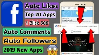 Facebook Auto Liker And comments 100%With proof