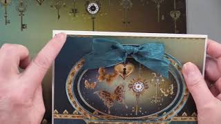 Hunkydory Midnight Butterflies - Paper Wishes Weekly Webisodes