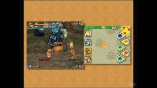 Final Fantasy Crystal Chronicles: Echoes of Time Nintendo DS Gameplay