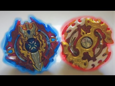 Spryzen Requiem S3 0 Zeta vs Xcalius X3 1 Iron : Beyblade Burst Evolution