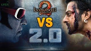 baahubali 2 vs 2.0 | Baahubali 2 vs Robot 2.0 | prabhas | ss rajamouli | rajinikanth