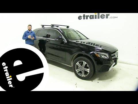 Etrailer | Thule WingBar Evo Crossbars Installation - 2019 Mercedes-Benz GLC-Class