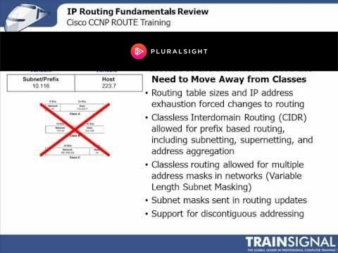 Ccnp trainsignal