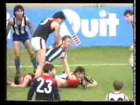 Melbourne vs North Melbourne - Round 20 1991