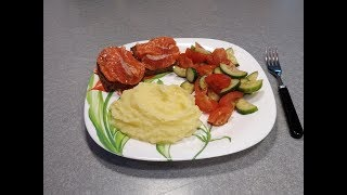 Рецепт Картофельное пюре - видео-рецепт пюре из картошки для детей и взрослых