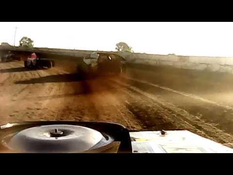 Benji LaCrosse -  seymour speedway heat race_7-19-15