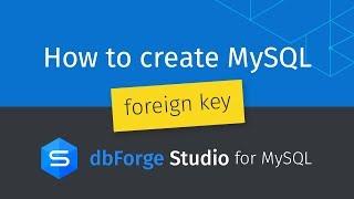 İki tablo arasında MySQL yabancı anahtar oluşturma