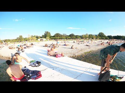 Geneve Beach #Switzerland #Geneva #Beach