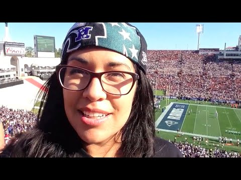 Cowboys vs Rams 2016 | First Game at the LA Coliseum