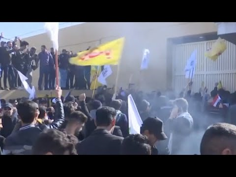 Iran-Backed Protesters Storm US Embassy; Date For US-china Trade Deal Signing Set | NTDTV