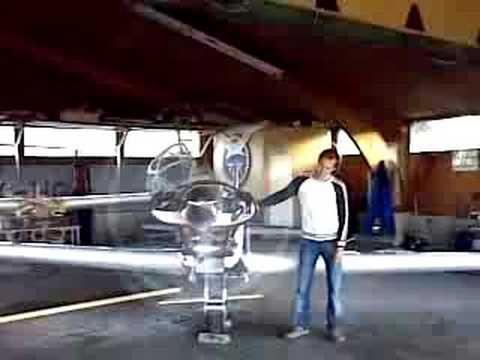 Fournier RF-5 startup