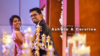 Wedding story of Ashwin & Caroline