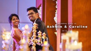 Wedding story of Ashwin & Caroline
