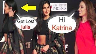 Katrina Kaif WALKS Off On Salman Khan GF Iulia Vantur At Bharat Movie Screening