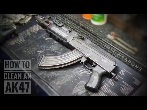 How To Clean AK Pistol:  Draco AK Cleaning