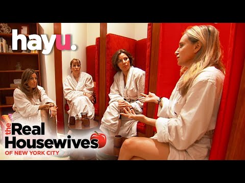 The Real Housewives of New York City | The Housewives Bond At The Meditation Centre