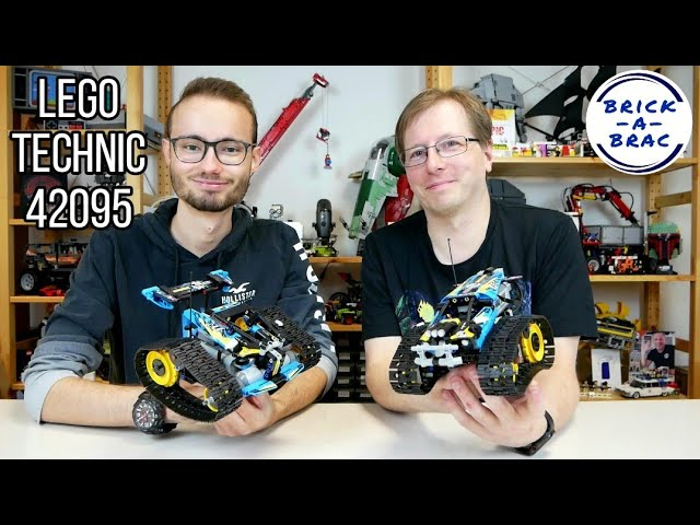 LEGO® Technic 42095 Stunt-Racer B-Modell [Review] - mit Studiogast Martin/Brickfan Vienna!