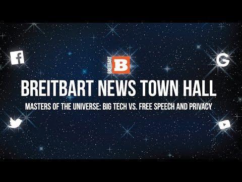 Breitbart News Town Hall -- Big Tech vs. Free Speech