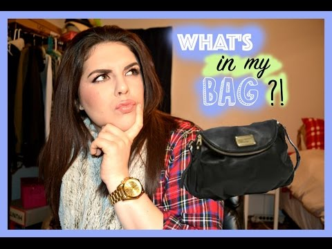 What's in my bag  Marc By Marc Jacobs ♡