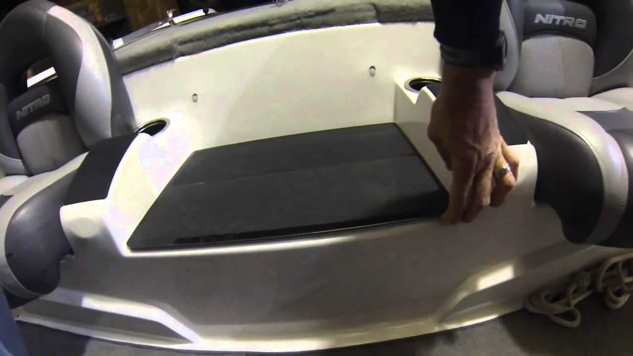 Nitro Z7 Center Seat Modification Youtube