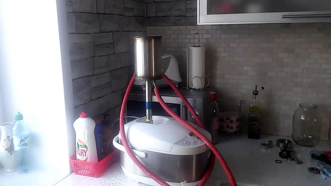 Как сделать самогонный аппарат из пароварки купить самогонный аппарат в симферополе за рубли