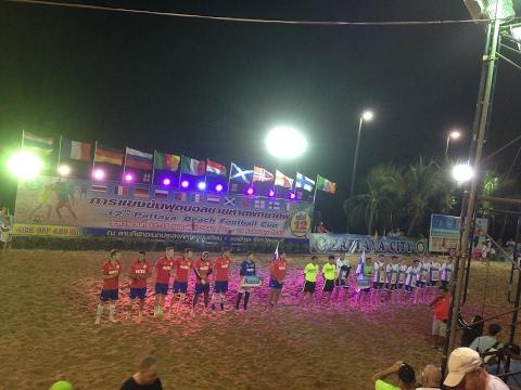 Russia vs Finland (7-3) HD, full match, 12th Pattaya Beach Football Cup 2017, Thailand