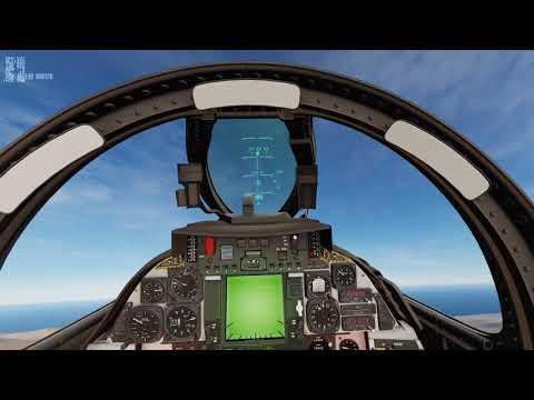DCS F-14 CCRP GBU-12 loft bombing (external lasing)